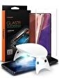 Spigen Spigen Galaxy Note 20 tR Platinum Glass Renkli Ekran Koruyucu (1 Packet) Renkli
